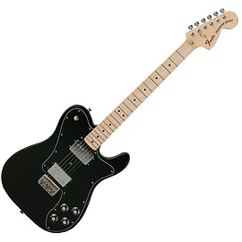 Fender - Classic Series '72 Telecaster Deluxe Electric Guitar, Black