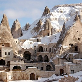 Turkey - Fairy Chimney Hotel in Göreme