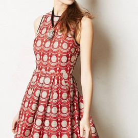 anthropologie - Maraschino Lace Dress