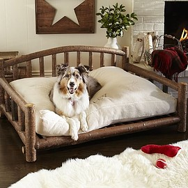 Pottery Barn - LOG DOG BED