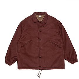 KAPTAIN SUNSHINE - Coach Jacket-Burgundy