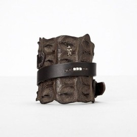 Henry Beguelin - leather bracelet