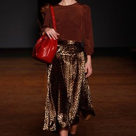 MARC BY MARC JACOBS - leopard skirt
