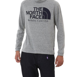 THE NORTH FACE PURPLE LABEL - COOLMAX L/S LOGO TURTLE