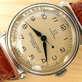 OMEGA - Medicus doctor's watch steel 1938