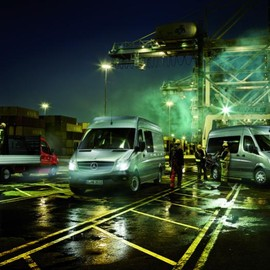 The Container Terminal - The new Mercedes-Benz Sprinter @ Work