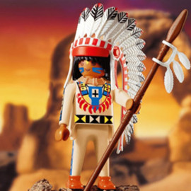 Playmobil - Native American Chief