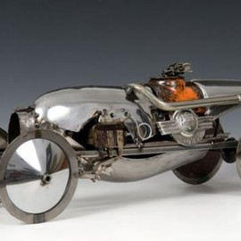 James Corbett - james corbett car parts sculpture