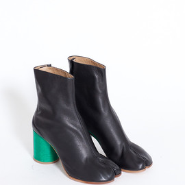 Maison Martin Margiela - Split Toe Tabi Boot (Black/Green)