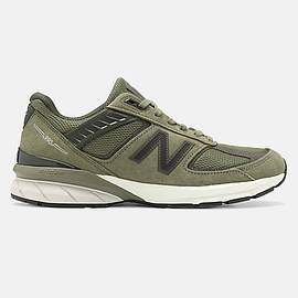 New Balance - Made in US 990v5, M990AE5, Covert Green with Camo Green