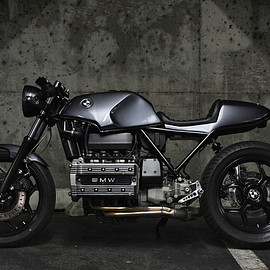 Jeff Veraldi - BMW K100 Cafe Racer