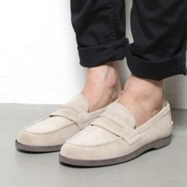 null - vendor PREMIUM / nonnative - DWELLER LOAFER - COW LEATHER WITH GORE-TEX 2L by REGAL  / ベージュ