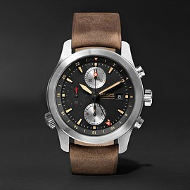 Bremont - ALT1-ZT/51 Stainless Steel and Leather Chronograph Watch
