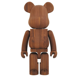 Karimoku x Medicom Toy - Walnut 1000% Bearbrick