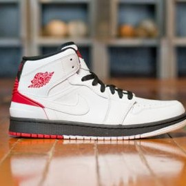 Nike - NIKE AIR JORDAN 1 RETRO '86 WHITE/BLACK-GYM RED
