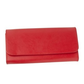 Kikki.K - Red Leather Travel Wallet by Kikki-K #packingtip