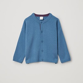 COS - CASHMERE BUTTON UP CARDIGAN