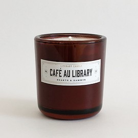 Hearth & Hammer - Café Au Library Literary Soy Candle
