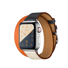 Apple, Hermès - WATCH Hermès SERIES 4: Leather Double Tour