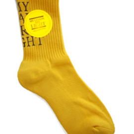MY LOADS ARE LIGHT - BASIC LOGO Sox (gold/caramel)