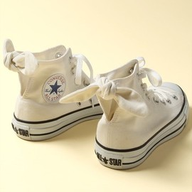 CONVERSE - ALL STAR SHERBEE HI 限定ホワイトカラー