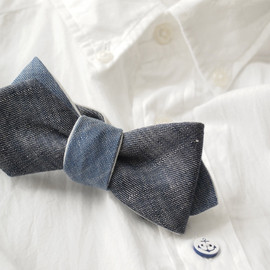 San Francisco - LINEN BOW TIE