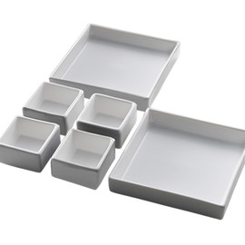 KASANE - Dish set White