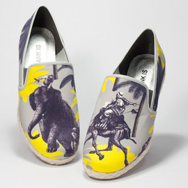 BLANK - BLANK IS Spring Summer 2012 Elephant slip-on Shoes