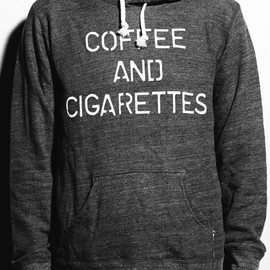 "WRIGHT - Pull-Over Hoodie ""COFFEE & CIGARETTES"""