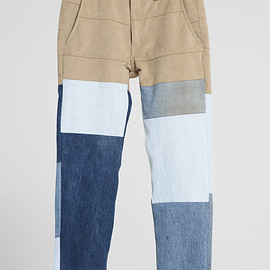 NADA. - Re-make denim pants / Indigo
