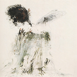 Cy Twombly - Ides of March 1962, oil and pencil on canvas