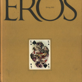 "Eros Magazine - ""EROS"" Vol.1 No.1, Editor: Ralph Ginzburg Art Director: Herb Lubalin, 1962"