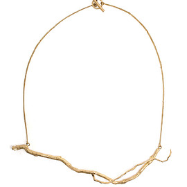 Dries Van Noten - SS2015 Branch Necklace