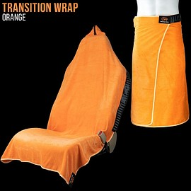 Orange Mud - Transition Wrap 2.0: Microfiber Gym Towel Seat Cover for Athletes Car Seat Cover - Accessories