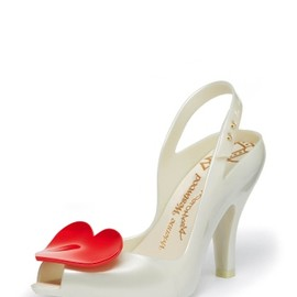 Vivienne Westwood - Lady Dragon with Heart White/Red