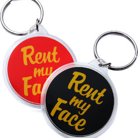Supreme - Rent My Face Keychain