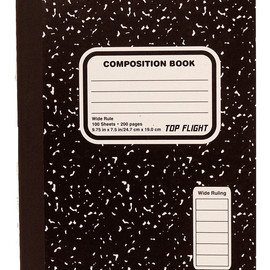 TOP FLIGHT - COMPOSITION BOOK