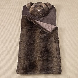 Luxe Faux Fur Animal Sleeping Bag