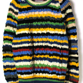 INVERALLAN - Multi Striped Knit