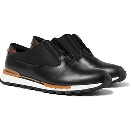 Berluti - Glazed Leather Sneakers