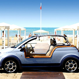 FIAT, Castagna  - Electric FIAT 500 Beach Buggy