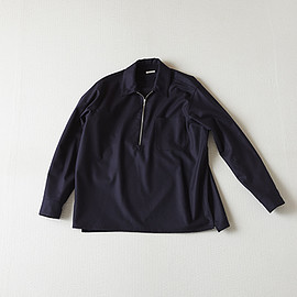 Comoli - Wool Flano Zip Shirt