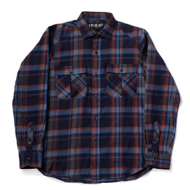 bal - DARK PLAID SAFARI SHIRT