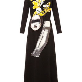 CARVEN - Embellished crepe dress