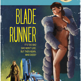 "Timothy Anderson - Blade Runner Pulp Cover 24"" x 36"""