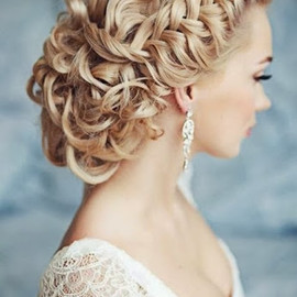 New Bride hair style