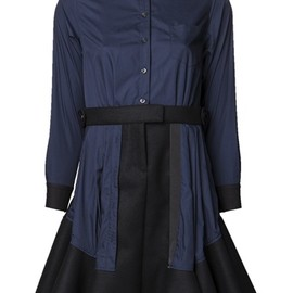 sacai - Shirting Dress