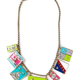 LANVIN - charm necklace