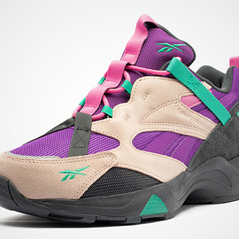 Reebok - Aztrek '96 Adventure - Grey/Purple/Black/Mint Green/Pink?