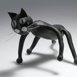"Pigomma for Pirelli - ""Meo Romeo - Gatto Meo"" Designed by Bruno Munari"